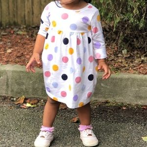 Old Navy long sleeve dress 18 months